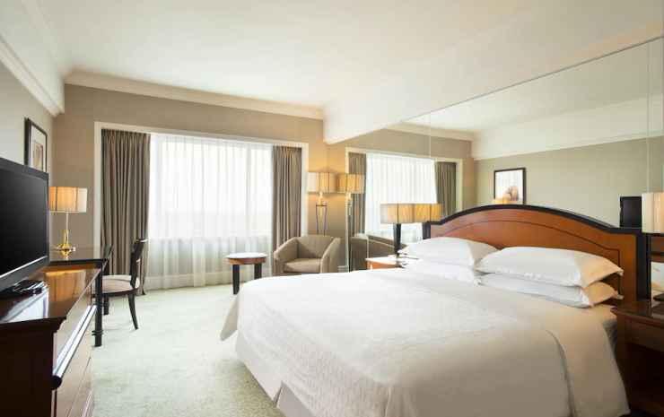 Sheraton Surabaya Hotel and Towers Surabaya - Kamar Deluks, 1 Tempat Tidur King, pemandangan kota