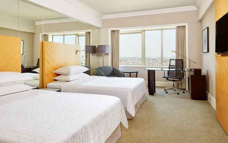 Sheraton Surabaya Hotel and Towers Surabaya - Kamar Premium, 2 Tempat Tidur Double, pemandangan kota