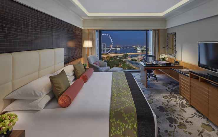 Mandarin Oriental, Singapore Singapore - Kamar, 1 Tempat Tidur King, pemandangan samudra