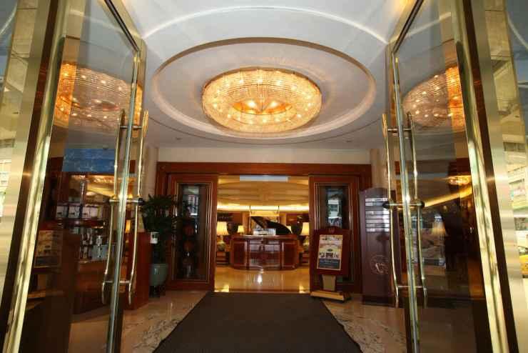 LOBBY โรงแรมเอเวอร์กรีนลอเรล ไทเป
