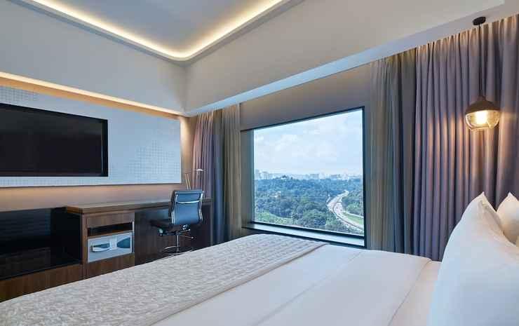Le Méridien Kuala Lumpur Kuala Lumpur - Kamar Superior, 1 Tempat Tidur King, non-smoking, pemandangan kota