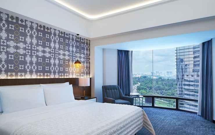 Le Méridien Kuala Lumpur Kuala Lumpur - Kamar Deluks, 1 Tempat Tidur King, non-smoking, pemandangan kota