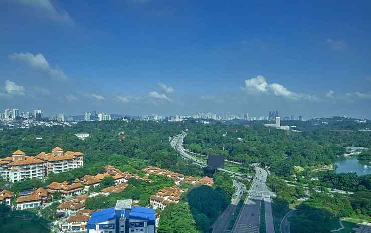 Le Méridien Kuala Lumpur Kuala Lumpur - Kamar Deluks, 2 Tempat Tidur Twin, non-smoking, pemandangan kota