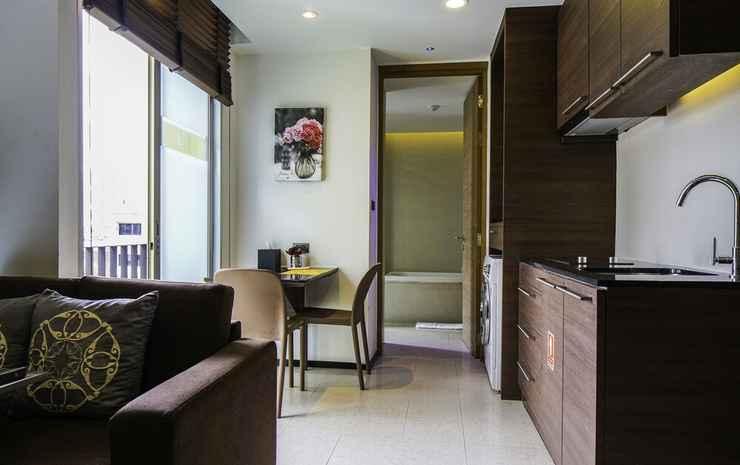 LiT BANGKOK Residence Bangkok - Suite Superior, 1 kamar tidur, dapur