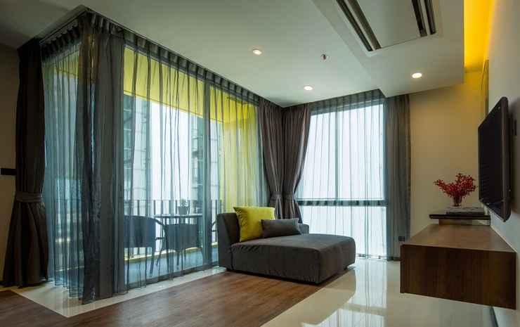 LiT BANGKOK Residence Bangkok - Suite Deluks, 2 kamar tidur, dapur