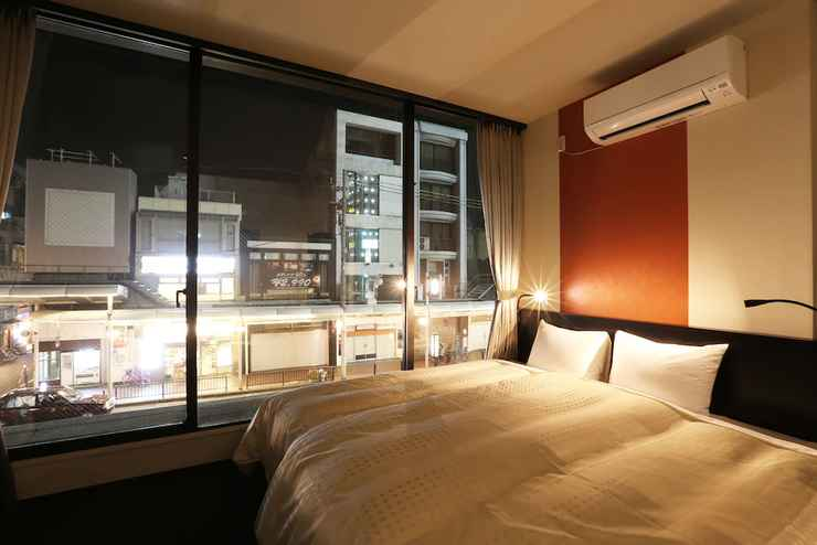 BEDROOM โรงแรมอิซุตสึ เกียวโต คาวาระมาชิ ซันโจ
