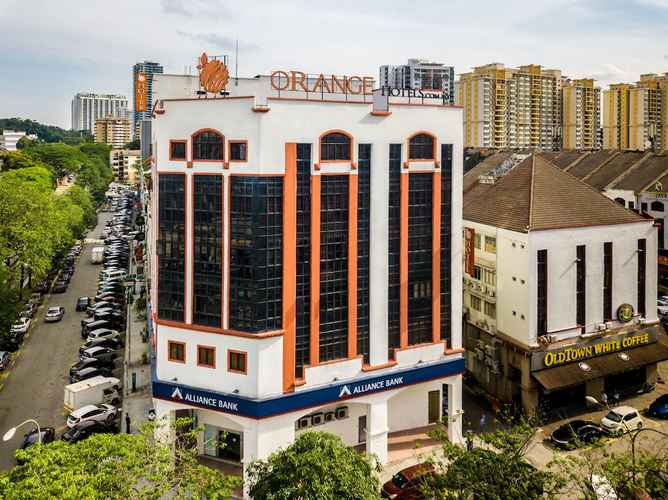 EXTERIOR_BUILDING Orange Hotels Kuchai Lama