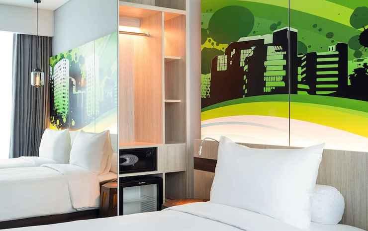 Ibis Styles Surabaya Jemursari Surabaya - Kamar Standar, 2 Tempat Tidur Twin