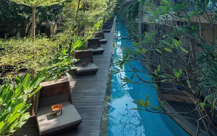Maya Sanur Resort & Spa Bali - Impressive Nest Suite - 1 King Bed