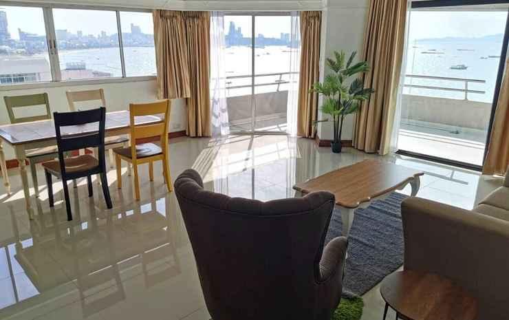 Markland Beach View Chonburi - Kamar Eksekutif, 2 kamar tidur, pemandangan laut, menghadap pantai (Beach Front)