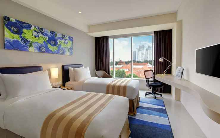 Holiday Inn Express Jakarta International Expo Jakarta - Kamar Standar, 2 Tempat Tidur Twin, non-smoking