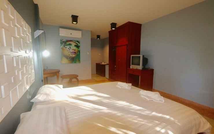Momento Resort Chonburi - Kamar Double Ekonomi, 1 Tempat Tidur King, teras, lantai dasar