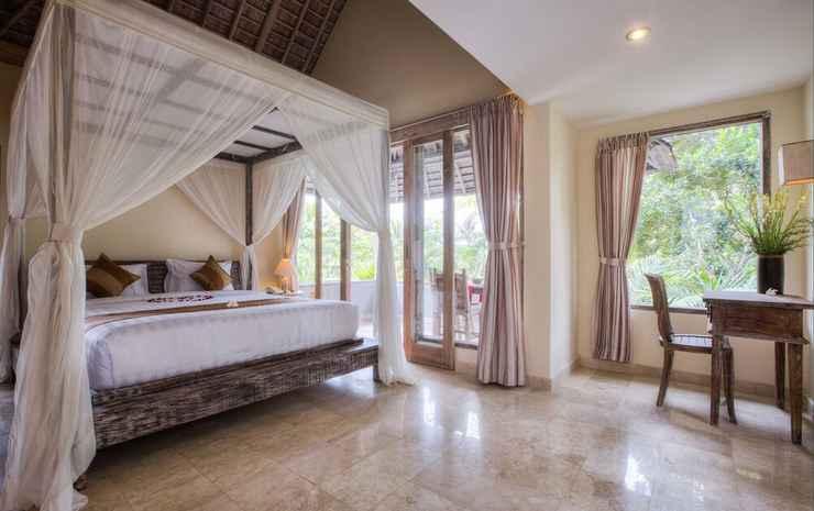 Royal Villa Jepun Bali - Kamar Deluks, pemandangan kebun