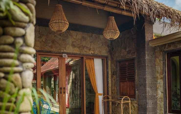 Bali Bohemia Bali - Vila Deluks, 1 kamar tidur, bathtub, pemandangan kolam renang