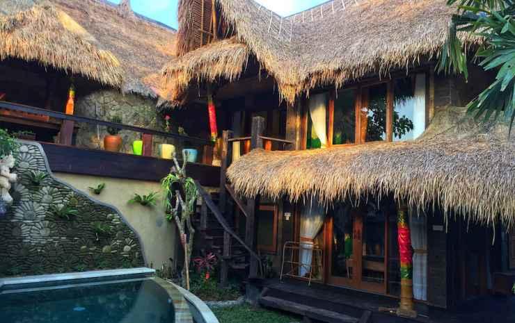Bali Bohemia Bali - Vila Deluks, 2 kamar tidur, bathtub, pemandangan kolam renang