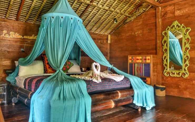 Bali Bohemia Bali - Bungalow Tradisional, pemandangan kolam renang