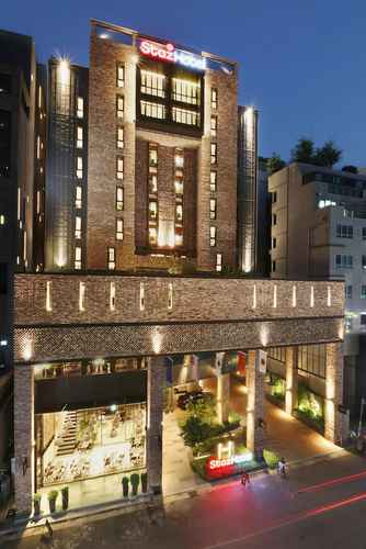 EXTERIOR_BUILDING Staz Hotel Dongtan