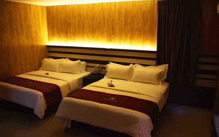 Hotel Time Johor Bahru Johor - Kamar Keluarga, pemandangan kota