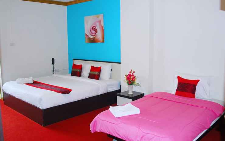 Witchuwan Sport & Spa Apartel Bangkok - Deluxe double bed & sofa bed