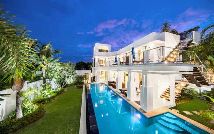 Hollywood Pool Villa Jomtien Pattaya Chonburi - 5-Bedroom Villa with Private Pool and Jacuzzi