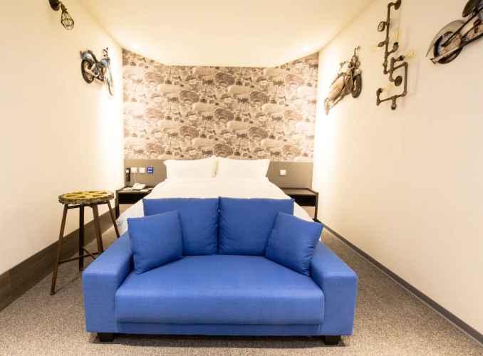 BEDROOM โรงแรมวอล์คเกอร์ ซีเหมิน