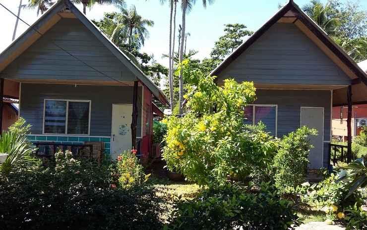 The Phu Lanta Resort Krabi - Bungalow Deluks, pemandangan kebun