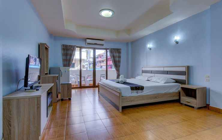 I-Rovers Sports Bar & Guesthouse Chonburi - Kamar Superior, balkon