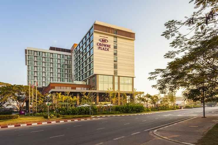 EXTERIOR_BUILDING คราวน์พลาซ่า เวียงจันทน์ - เครือโรงแรมไอเอชจี
