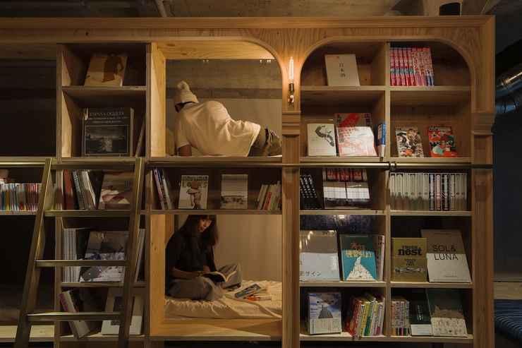 LOBBY BOOK AND BED TOKYO IKEBUKURO - Hostel