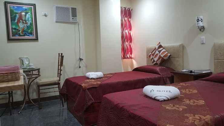 BEDROOM FJ Manila Hotel