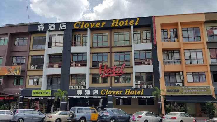 EXTERIOR_BUILDING Clover Hotel