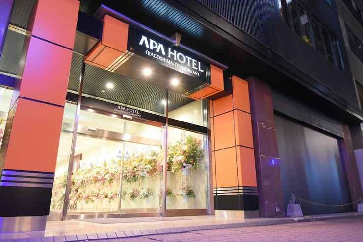 EXTERIOR_BUILDING โรงแรมเอพีเอ คาโงชิมะ เท็นมงกัง