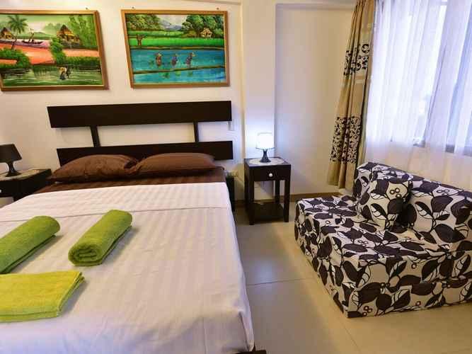 BEDROOM Anahaw Apartments Whitebeach