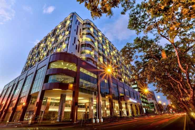 EXTERIOR_BUILDING Hilton Kota Kinabalu
