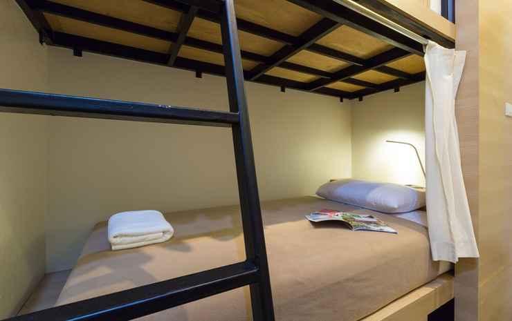 Trica Hostel Bangkok - Kamar Basic, 2 Tempat Tidur Twin
