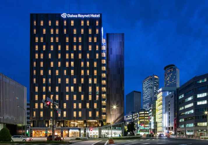 EXTERIOR_BUILDING โรงแรมไดวะ รอยเนต นาโกยา ไทโกะ โดริ ไซด์