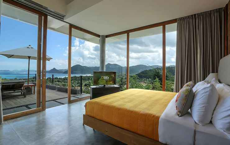 Seven Havens Residence Lombok - Kamar Panorama, 1 Tempat Tidur King, pemandangan samudra, menghadap laut