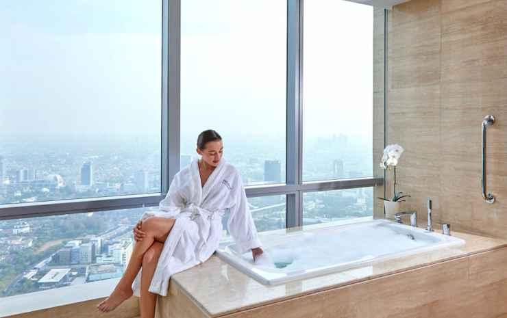 The Westin Jakarta Jakarta - Kamar Premium, 1 Tempat Tidur Double, non-smoking, sudut