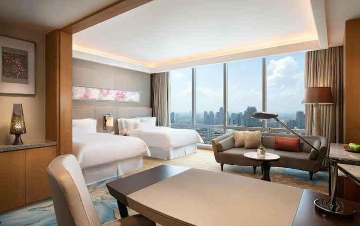 The Westin Jakarta Jakarta - Kamar Premium, 2 Tempat Tidur Double, non-smoking