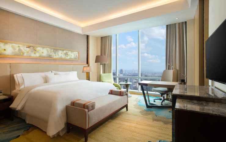 The Westin Jakarta Jakarta - Westin, Kamar, 1 Tempat Tidur King, non-smoking, pemandangan kota