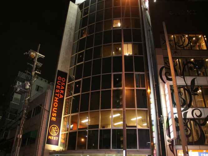 EXTERIOR_BUILDING Osaka Guesthouse Nest - Hostel