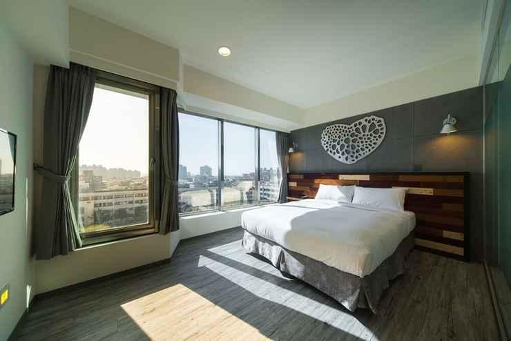 BEDROOM โรงแรมซินเช่อ ซินจู๋