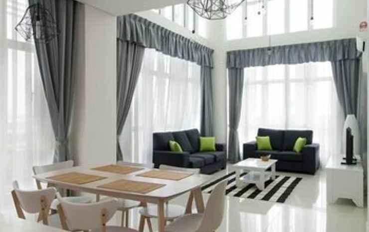 Holi 1Medini Themed Suites, Legoland Johor - Penthouse Keluarga, 3 kamar tidur, pemandangan kebun, sudut