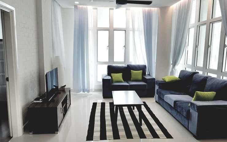 Holi 1Medini Themed Suites, Legoland Johor - Penthouse Keluarga, 4 kamar tidur, pemandangan kota, sudut
