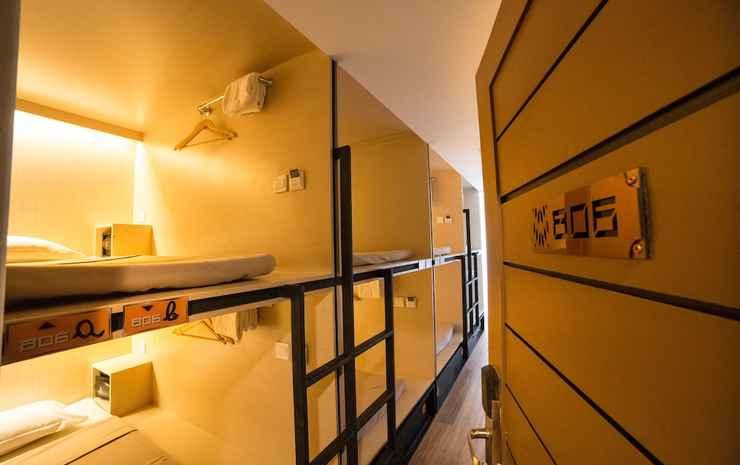 CUBIC Bed Hostel Bangkok - Private 6 beds (Share Bathroom)