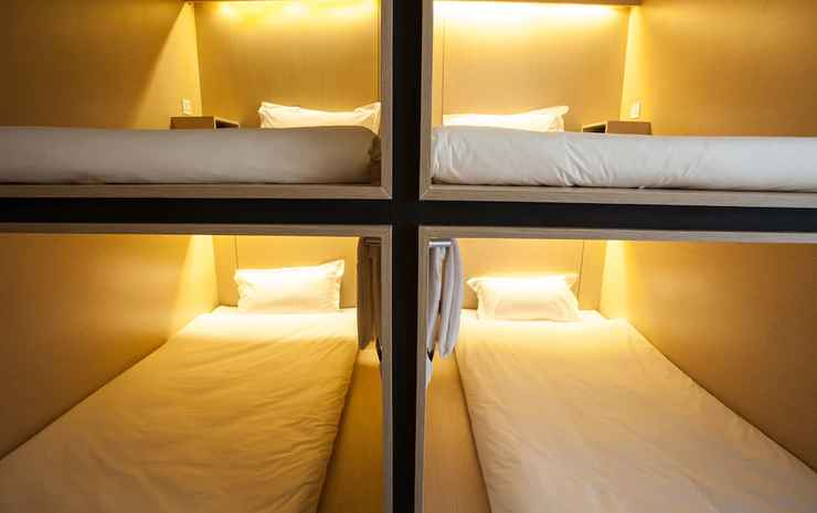 CUBIC Bed Hostel Bangkok - Kamar Quadruple, non-smoking