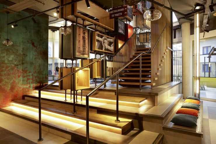 LOBBY โรงแรมโนโวเทล ลอนดอน คานารี วาร์ฟ