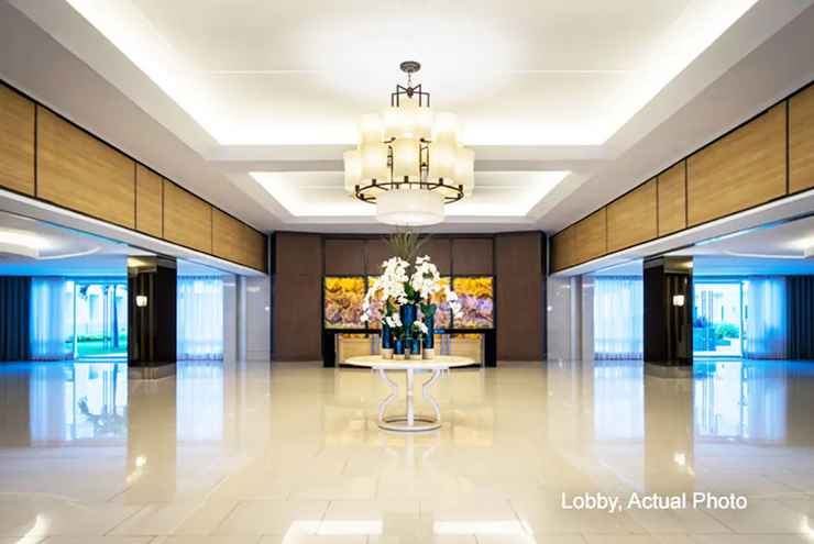 LOBBY Shell Residences Apartment by Homebound