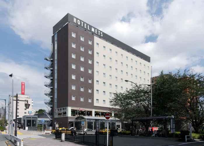 EXTERIOR_BUILDING เจอาร์-อีสต์ โรงแรมเมทส์ โคมาโกเมะ