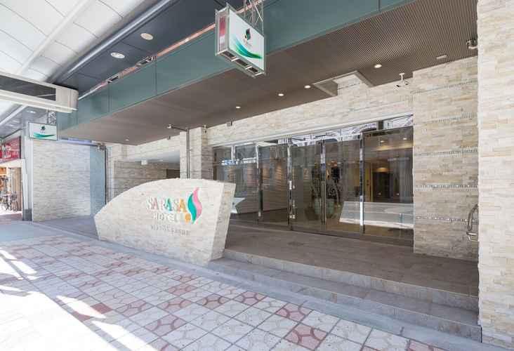 EXTERIOR_BUILDING โรงแรมซาราซ่า นัมบะ